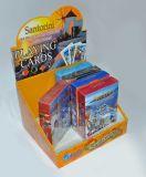 Überzogener Playingcards Plastikschürhaken