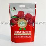 Sac 2016 neuf avec le sac reconnu et en plastique de GV de promotion de nourriture de tirette pour des fruits secs