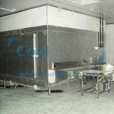 IQF Tunnel-Tiefkühlverfahren-Gerät für Fisch-Garnele-Mehlklöße