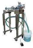 Máquina de etiquetado y que capsula de relleno semi automática