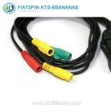 3pin 6kts-klem OBD Schakelaar voor het Hulpmiddel van FIAT Dignostic