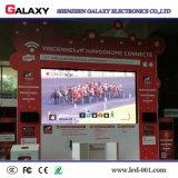 Farbenreiches örtlich festgelegtes INNENP3/P4/P5/P6 LED, das Bildschirmanzeige bekanntmacht