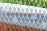 Покрашенная ткань полиэфира жаккарда для тканья дома платья женщины