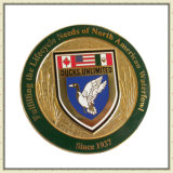 Insignia de recuerdo modificada para requisitos particulares barata del recuerdo Insignia en blanco común del botón de la medalla del premio del deporte