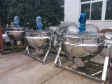 Jam Jacket hervidor de agua de cocción hervidor de agua con caldera de vapor mezclador