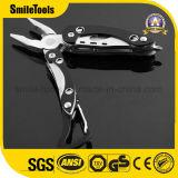Herramienta Pocket plegable del cuchillo de múltiples funciones de Multitool con los alicates Carabiner