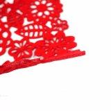 3mm & 5mm Lentetijd 100% Polyester Placemat voor de Decoratie van het Tafelblad en van de Vakantie