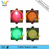 Señal del semáforo de los nuevos colores LED del diseño que contellea tres