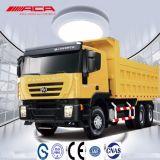 Saic Iveco Hongyan Genlyon 8X4 380HP 덤프 트럭 팁 주는 사람