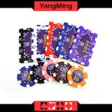 2016 projetar/a caixa de alumínio Ym-Fmgm002 das microplaquetas do jogo de cartão 760PCS do jogo do chipset do póquer estilo de Marco