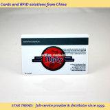 Cartão do restaurante feito do PVC com listra magnética (ISO 7811)
