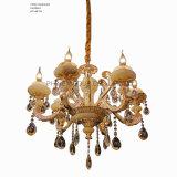 Iluminación casera europea de la decoración de Phine hecha de la lámpara pendiente de la aleación del cinc