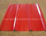 Крыша Филиппиныы цвета/лист Corrugated металла цвета стальной