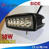 18W het auto Bijkomende LEIDENE van de Schijnwerper 4WD ATV van de Lamp Licht van het Werk
