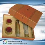 挿入(xc-hbc-006)が付いている表示木かペーパー包装のギフトまたは化粧品の荷箱