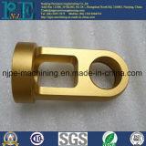 Kundenspezifisches Qualität CNC-maschinell bearbeitendes Messingrohrfitting