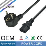 Câbles de fil électrique de PVC de vente en gros de câble d'alimentation de fiche de Sipu Etats-Unis