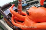 Гигантский океанский океанский мир Тема надувной слайды для игровой площадки