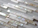 Mosaico de agua dulce del vidrio cristalino de mosaico del shell