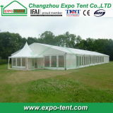 Grande tente de noce d'exposition spéciale moderne