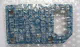 簡単なPCB青いマスクが付いている2つの層の銅のボード