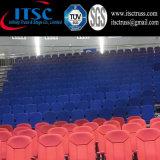 Etapas móviles de los asientos retractables para el auditorio de escuela