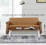 Nuovo sofà di cuoio dell'ufficio dell'unità di elaborazione delle forniture di ufficio di stile (SF-6075)
