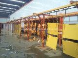 Cadena de producción electrostática automática de la capa del polvo para los productos de metal