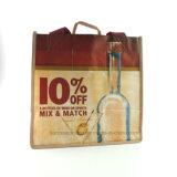 Vente en gros Sac à provisions bon marché non tissé à la bouteille à fourre-tout