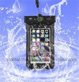 熱い販売の革電話Bag&Caseの防水移動式ケースによってカスタマイズされる防水電話袋