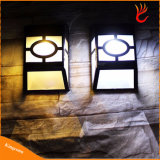 10 Lamp van de Muur van de Weg van de Tuin van de Omheining van de ZonneMacht van de Sensor van de leiden- Motie de Lichte Lichte Waterdichte Openlucht