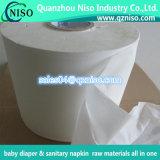 Производство оберточной бумаги производителя сырья для малыша пеленок санитарных Napkin Diaper