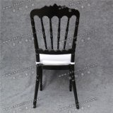Yc-A401 공장 도매 검정 왕위 Chiavari 결혼식 단계 의자