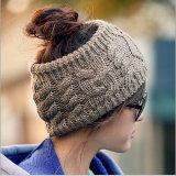 女性は編んだターバンの冬の暖かいかぎ針編みヘッド覆いの耳のウォーマーのHairbandのヘッドバンド(HB100)を