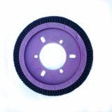 Professionelle runde Form Stenter Pinsel mit Reinigungs-Funktion
