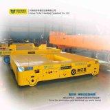 При работе с платформой тележки для тяжелых грузов