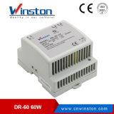 세륨 (DR-60-5)를 가진 AC/DC DIN 가로장 엇바꾸기 전력 공급
