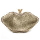 광저우 Eb870에 있는 당 Clucth 여자 마약 밀매인 핸드백 모조 다이아몬드 OEM 공장을 빛나는 최신 판매 수정같은 돌 이브닝 백