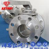 SUS316/304/Wcb JIS 10k 2PC ensanchó la vávula de bola 15A-200A