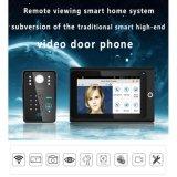 Беспроволочная система безопасности дома телефона двери дверного звонока WiFi видео- видео-