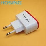 5V 2.1A Enig/Dubbel OEM van de Lader van de Haven USB Kleurrijk Embleem