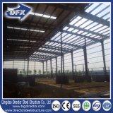 Здание хранения купола мастерской фабрики плоской крыши низкой стоимости стальное