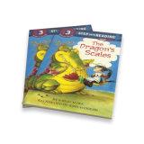 완벽한 바인딩 주문을 받아서 만들어진 아동 도서 이야기 책 인쇄