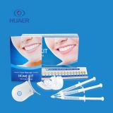 Denti domestici di lusso personalizzati del gel di imbianchimento del decolorante dei denti del pacchetto che imbiancano