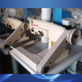 Usado Golden Wheel Single Lockstitch Agulha de alimentação Alimentação Inferior-The-Arm máquina de costura ziguezague