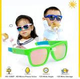 يشبع [هد] [1080ب] [720ب] طفلة [سبورتس] جدي آلة تصوير نظّارات شمس مع أثاث مدمج [16غب] ذاكرة