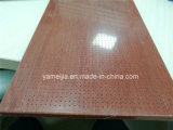 Los paneles de techo perforada de madera en color aluminio panel de abeja