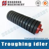 Duradera rodillo transportador de correa de goma de China