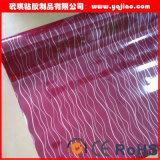 Film décoratif à haute brillance de meubles de PVC de prix bas et de bonne qualité
