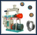 Gránulo del shell del cacahuete produciendo el granulador de la máquina